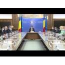 Declarații de presă susținute de premierul Ludovic Orban și de membri ai Cabinetului, la începutul ședinței de Guvern din 8 octombrie